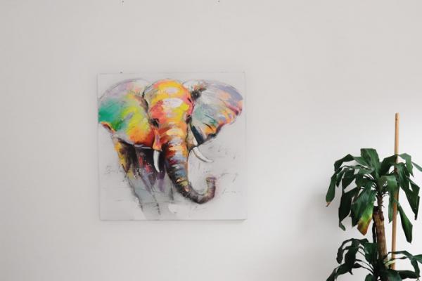 Elefantenkunstwerk
