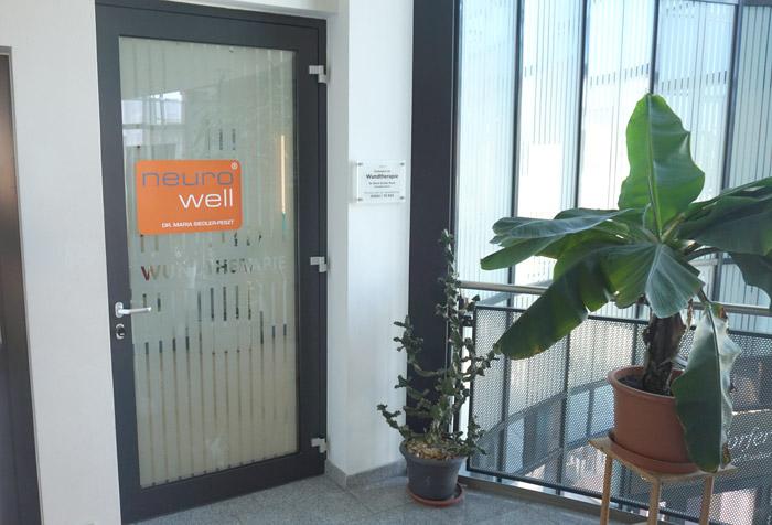 Eingang Wundtherapie